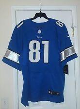 Men Nike NFL Detroit Lions Calvin Johnson Jersey Size 56