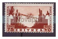 ERITREA  1936  -  POSTA AEREA -  CENTESIMI 75  -   NUOVO **