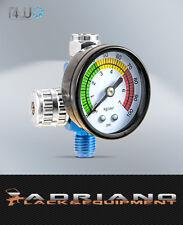 T4W 59405 Druckregler mit Manometer für Lackierpistolen / Glasscheibe