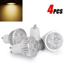 4PCS/SET 12W LED Spotlight GU10 Downlight Globe Lamp Bulb (Warm White )
