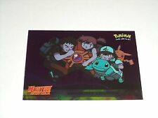 #17 Underwater Adventure Foil Holo 1999 Topps Pokemon Movie Animation Edition