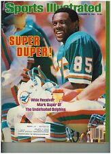Nov 19 1984 Special  Issue Sports Illustrated Dolphin's Mark Duper Cover