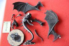 Games workshop Señor De Los Anillos Witch King en figura de metal cayó Bestia Señor de los anillos gw