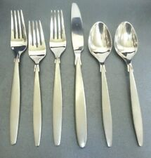 Oneida Frosted 18/10 SPARTA 6 pc Mixed Lot Stainless Flatware