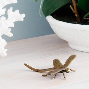 Dragonfly Antique Brass Hamptons Coastal Home Decor