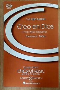 Francisco J. Nunez: Creo en Dios (Voices/Piano)