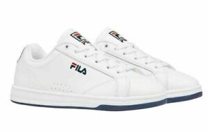 Fila Women's Sneakers 9.5 Reunion Leather Low Top Court Tennis White
