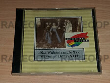 The Six Wives Of Henry VIII by Rick Wakeman (CD, A&M) MADE IN GERMANY
