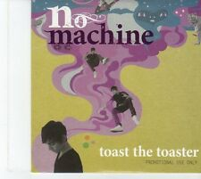 (EU335) No Machine, Toast The Toaster - 2009 DJ CD