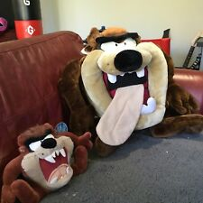 EXTRA Large RARO TAZ Retrò Vintage Tasmanian Devil Peluche Looney Toons 30 Pollici +