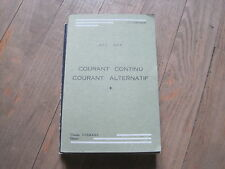 J.P. LONGCHAMP: Courant continu courant alternatif