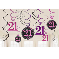 21st Birthday Party Hanging Decorations For Sale Ebay