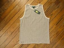 New! Ralph Lauren Gray and Navy Sleeveless Knit Top   Size 1X  $49.00