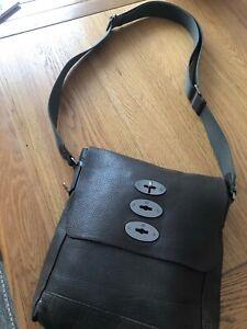 Mulberry Brymore Messenger Crossbody Bag - Khaki