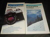 35mm SLR Photographing Books And Handbooks Minolta