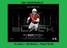 Brian Urlacher Chicago Bears 2021 Panini Black 2X Case 24X Box Break #3