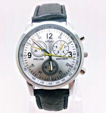 Silber Uhr Armbanduhren für Herren