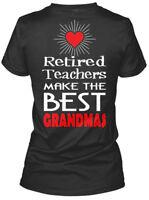 Retired Teacher Best Grandmas - N/a Teachers Make The Gildan Women's Tee T-Shirt