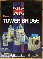 TOWER BRIDGE PUZZLE 3D PRETROQUELADO CUBICFUN,41 pcs,REF.C702H