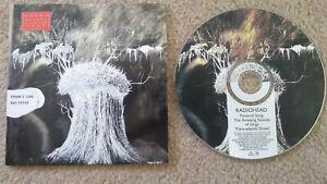 PYRAMID SONG BY RADIOHEAD - CD SINGLE 1 OF 2 CD SET - 2001 EMI RECORDS