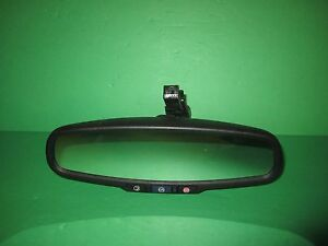 OEM Chevy Sonic Cruze CTS Verano Rear View Mirror 026391 Voice ONStar