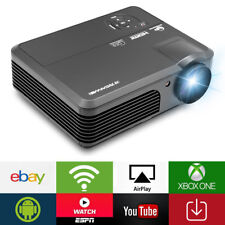 4200LMS LED Android Wifi Projector Home Cinema Movie Football Game HDMI VGA USB
