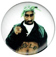 Official 2pac Tupac Shakur Thug Life 1.5 inch Button pin badge