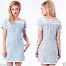 Polka Dot Mini Shift Dresses for Women