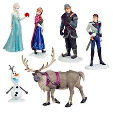 6pc Frozen Princess Cake Toppers Elsa Olaf Anna Figures Set Disney Toy Topper UK