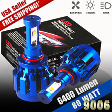 2X 9006 HB4 80W LED Headlight Conversion Bulb 8000LM High Power Dual Beam Light