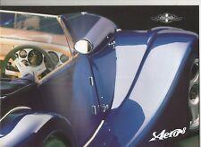Morgan Aero 8 car _2000 Prospekt / Brochure