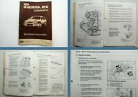 Ford Sierra RS Cosworth Technik Schulungshandbuch 1985 Techniker Information