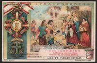 Austria Female Order of Elisabeth c1905 Trade Ad Card