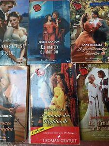Livres harlequin historiques