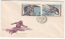 LETTRE FDC TCHECOSLOVAQUIE THEME  ESPACE  1965