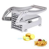 Stainless Steel French Fry Potato Vegetable Cutter Maker Slicer Chopper Chipper