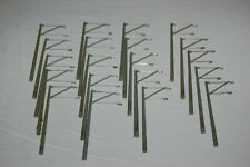 More details for 20 x ho gauge model railway pantograph catenary overhead masts =- used but ok