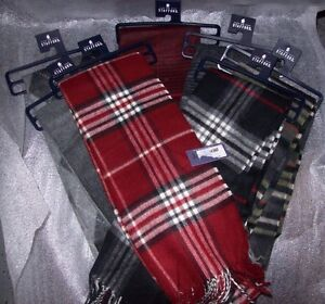 MENS STAFFORD SCARFS MULTIPLE COLORS ONE SIZE FITS ALL NEW WITH TAGS MSRP$34.00