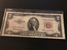 1953-c $2 Dollar US Note Red Seal .... 78006608