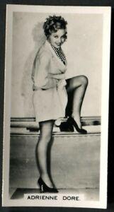 Tobacco Card, Carreras, FILM STARS, 2nd Series, 1938, Adrienne Dore, #19