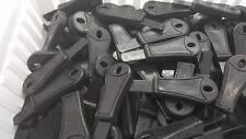 50 Rod Striker/Scraper Blade Firesteel Ferro Flint Ferrocerium EDC  BOB  Black