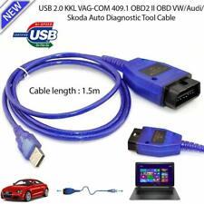 USB Cable KKL VAG-COM 409.1 OBD2 Diagnostic Scanner Tool for VW/Audi/Seat VCDS