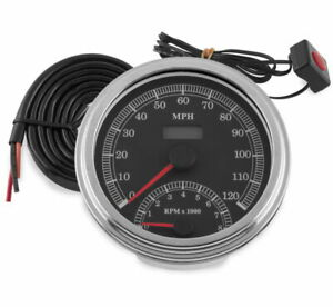 Biker's Choice Cable Driven Speedo/Tach Combo 169350