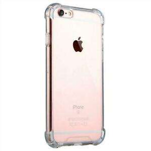 for Apple iphone 5 6 SE XMax Luxury Shockproof Anti Back Clear Case Cover