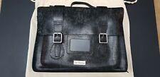 Doc Martens real leather mottled grey snake skin effect large satchel should bag