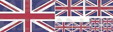 9 ADESIVI BANDIERA UNION JACK FLAG GRAN BRETAGNA GREAT BRITAIN STICKERS VINILE