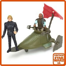 Vintage Star Wars Original Mini Rig Desert Sail Skiff Luke Jedi Weequay Figures