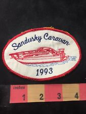Vtg Ohio SANDUSKY CARAVAN 1993 Boat Patch O89N