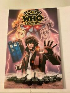 DOCTOR WHO Classics Volume One 1st Printing TPB IDW Publ. - 2008!