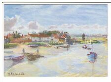 Postcard: North Creake, Norfolk - Julie Adams, 1988